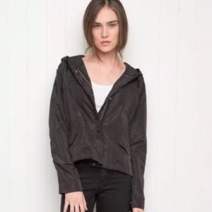 Brandy Melville Black Wind Breaker Jacket